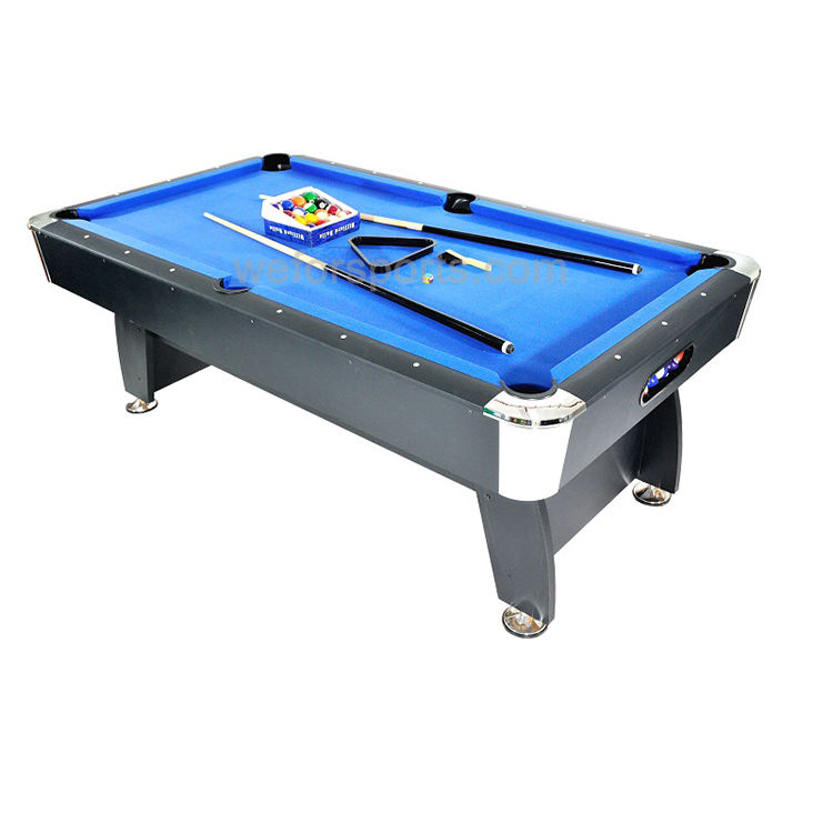 Factory direct selling cheap billiard snooker pool table MDF table for 6ft 7ft 8ft 9ft
