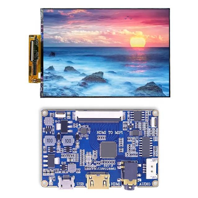 "Custom 7.0"" inch 1200*1920 FHD Super thin lcd cell display with mipi to HDMI board for DIY projector"