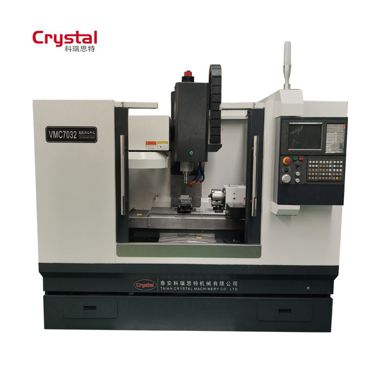 CRYSTAL 3 Axis gsk Siemens Fanuc Cnc Milling Machine price For Sale VMC7032