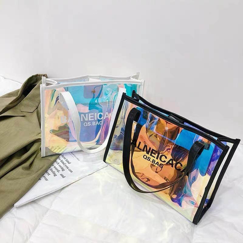 Raymond Custom Jelly Pvc Bags Pvc Clear Fashion Large Pvc Bags Transparent Bag For Women