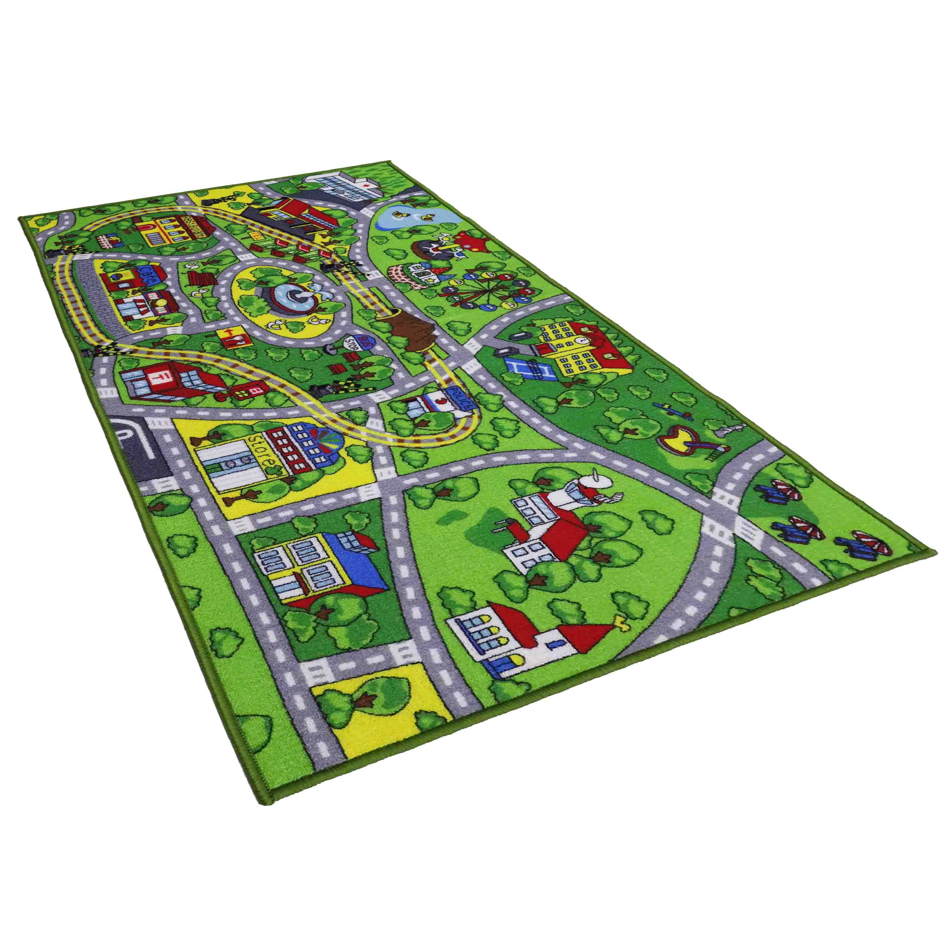 Dotcom Customized Children Baby Play Mats Funny Boy Girl Educational Eco-friendly Soft Kids Mats Rugs