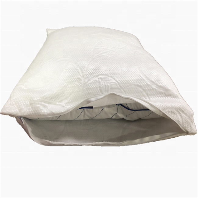 Cooling Pillowcase Bed Pillows for Sleeping Luxury Hotel Collection Gel Pillow for Side Back and Stomach Sleeper Queen Size