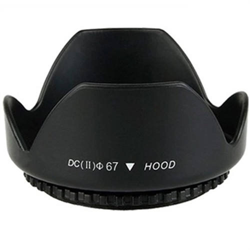 DSLR camera flower shape Lens hood universal 49mm - 82mm screw on mount for all brand digital camera