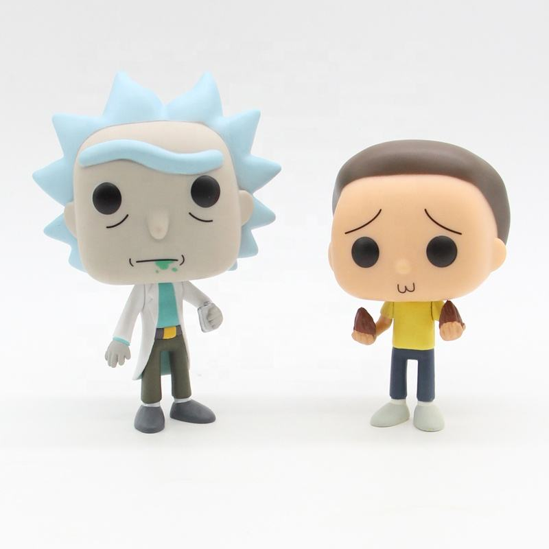 2020 kids toys FUNKO POP Rick and Morty Cute Vinyl Figure Collection Model Toys doll anime figure toys Morty Smith 112.113