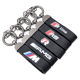 Genuine Leather Metal Keyrings Keychain Car Key Ring Chain