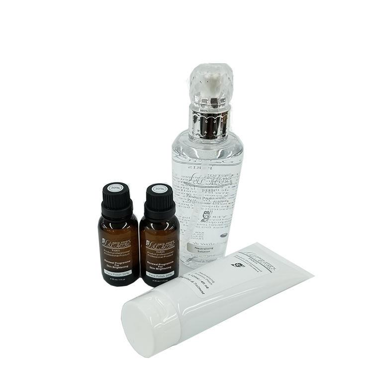卸売スキンケアアンチエイジング AHA 血清セットを刺激する皮膚の再生