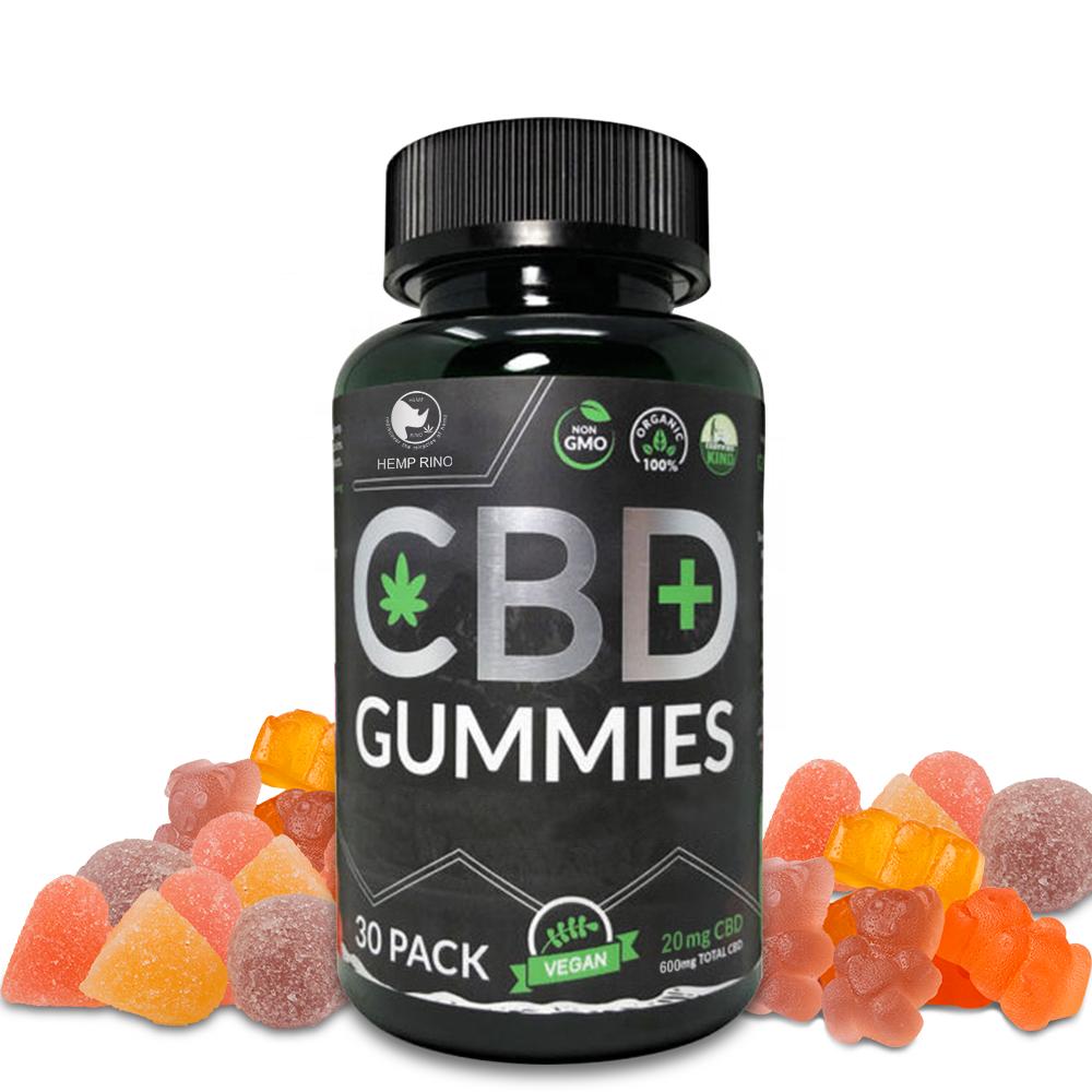 Vegan CBD Gummies Wholesale Bear Gummy Candy