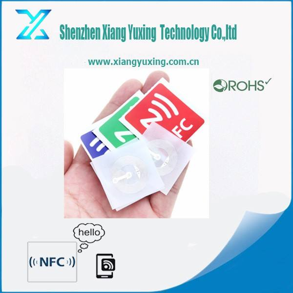 Rfid Label Tags Free Samples 13.56mhz Passive Rfid NG213 / 215 NFC Label Sticker Tag