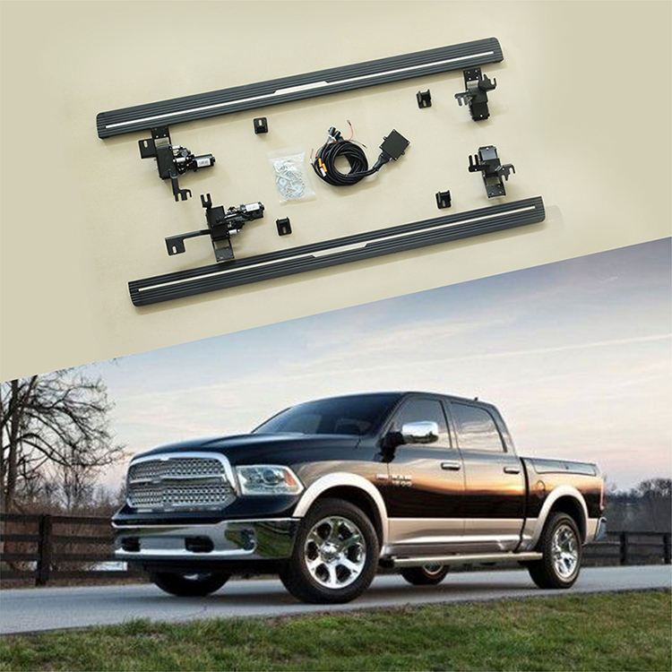 sliding door cover side step latest car accessories running board 2014-2018 for Dodge Ram 1500