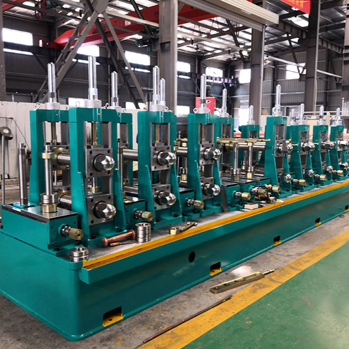 Automatic used erw pipe mill/galvanized pipe machine/tube making machine steel pipe production line