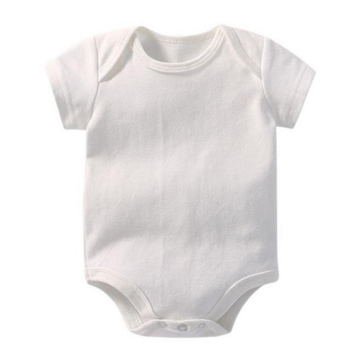 100% organic cotton baby clothes romper wholesale custom baby unisex baby rompers