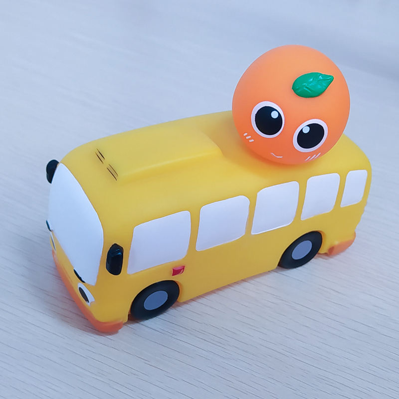 Wholesale High Quality Custom Design Plastic PVC Model car and bus Toys
