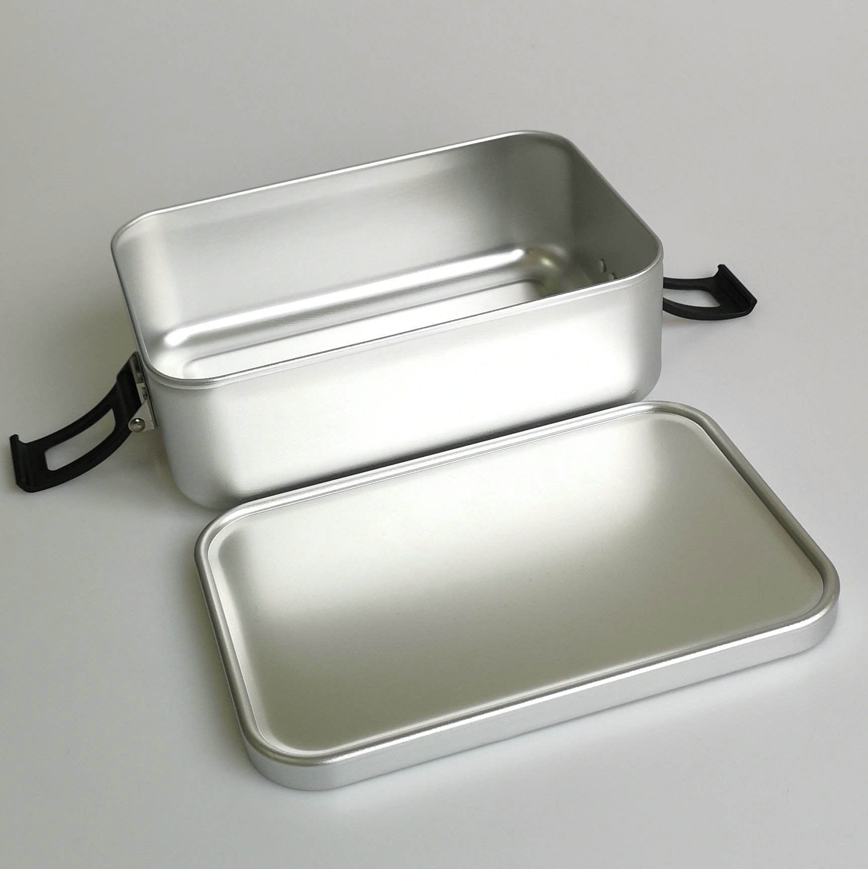 Classic [ Lunch Box Metal ] Metal Lunch Box HOT SELL New Products 2019 1000ml Rectangle Lockable Leakproof Aluminum High Quality School Lunch Box Metal Bento Box