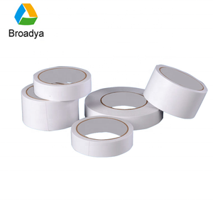 High quality double sided tissue tape hot melt adhesive tape jumbo roll