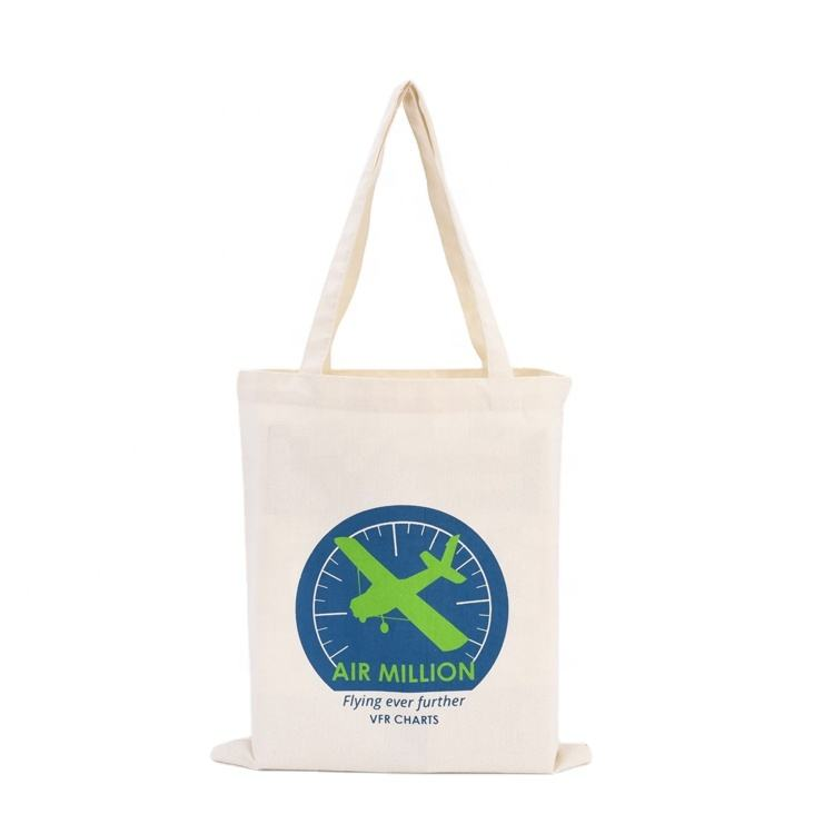 Cheap Plain Recycled Cotton Shopping Bag