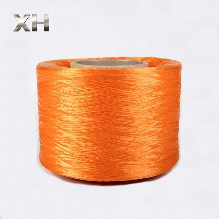 Supply 300D-1200D Polypropylene PP yarn FDY for Braided rope Flame retardant Anti-UV Color Customized