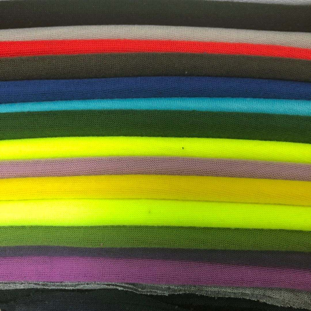 cheap soft bespoke factory direct fabric seamless tubular polyester fabric