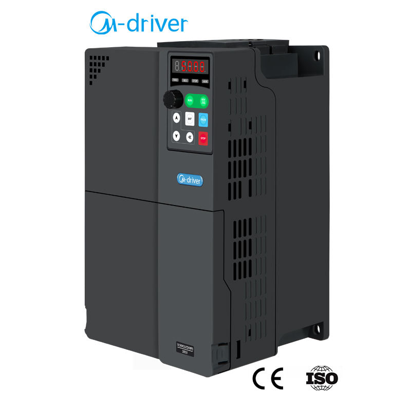 220V Single Phase to 380V 3 Phase Converter 11KW 15KW AC Motor Drive Inverter 50Hz 60Hz VFD