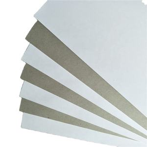 Superior Manufacturer 250 Gsm Duplex White Paper Board Grey Back/Coated Paper