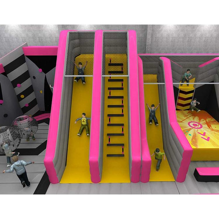 Inflatable Park Factory Price Business Plan Indoor Inflatable Sports Park By Cheer Amusement