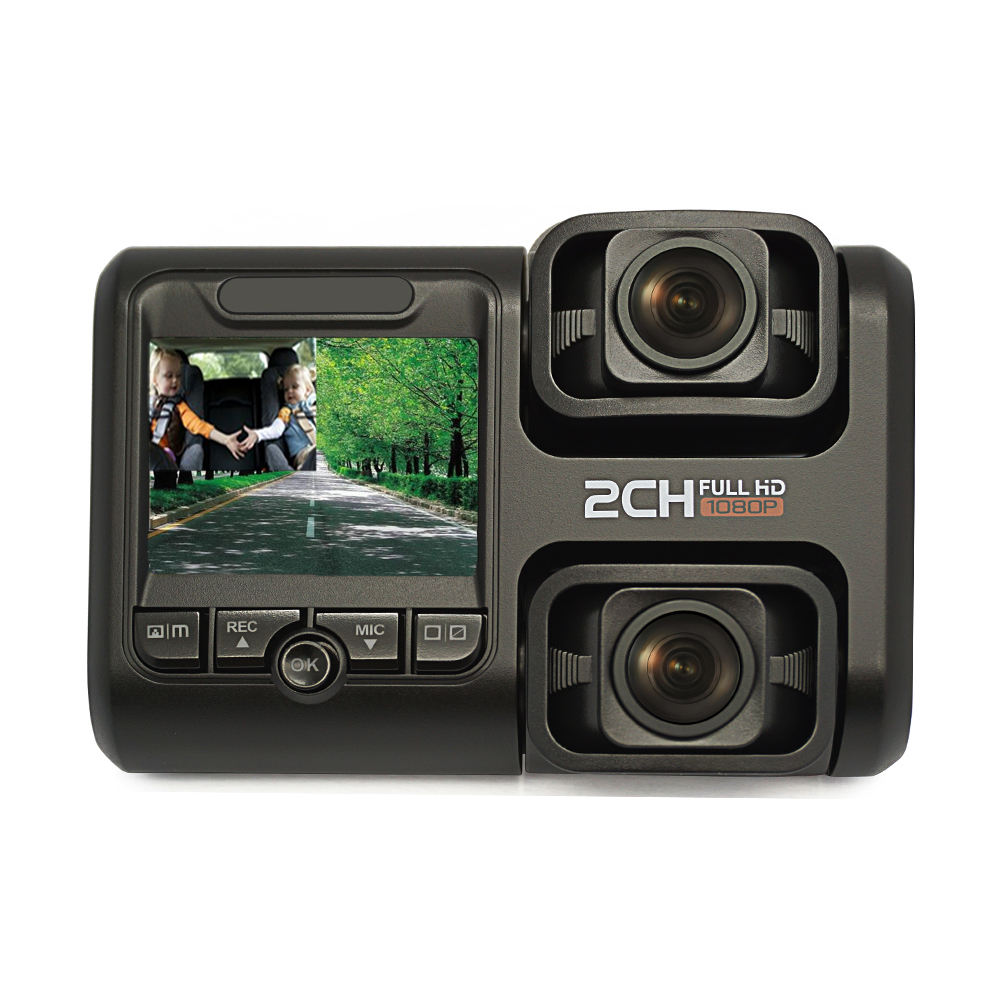 Dual Lens Camera Dash Cam Front and Inside HD 1080P +1080P WIFI GPS Camera Car DVR in Car Black Box
