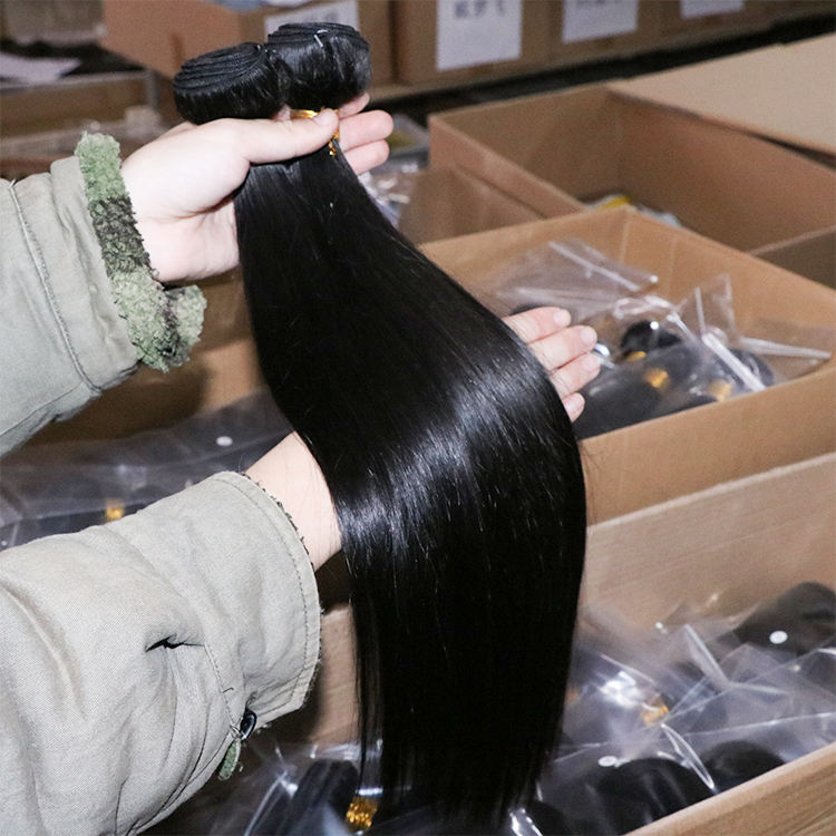 Mink cambodian virgin hair vendors wholesale cuticle aligned hair Weave bundles unprocessed 100 human raw cambodian hair