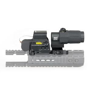 558 red dot sight + G33 multiplier set quick release clip water bomb modified accessories holographic sight 20MM card slot black
