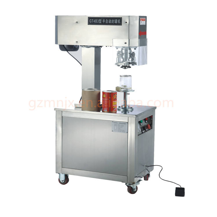 Electrical Cereal Small Food Aluminum Canning Machine