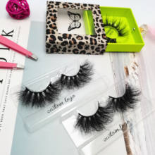 eye lashesh mink eyelashes vendor wholesale 5D 8D 25 MM fluffy mink lashes private label 25mm 3d strip mink eye lash vendors