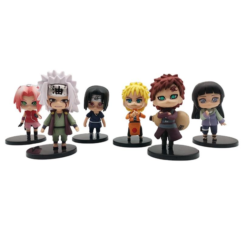 OEM PVC Naruto Action Figure Manufacturer Design Your Own Art Toy Figure Welcome OEM