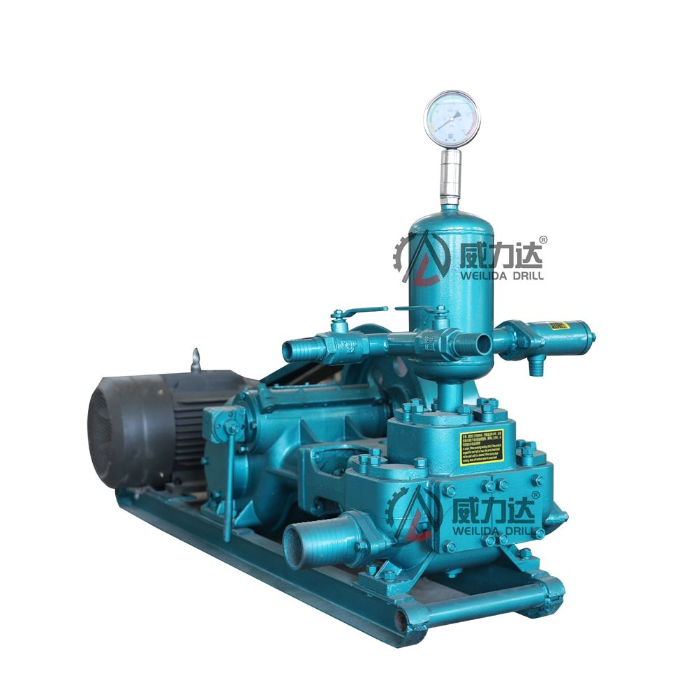BW200 Horizontal double cylinder reciprocating double acting pision pump grouting pump