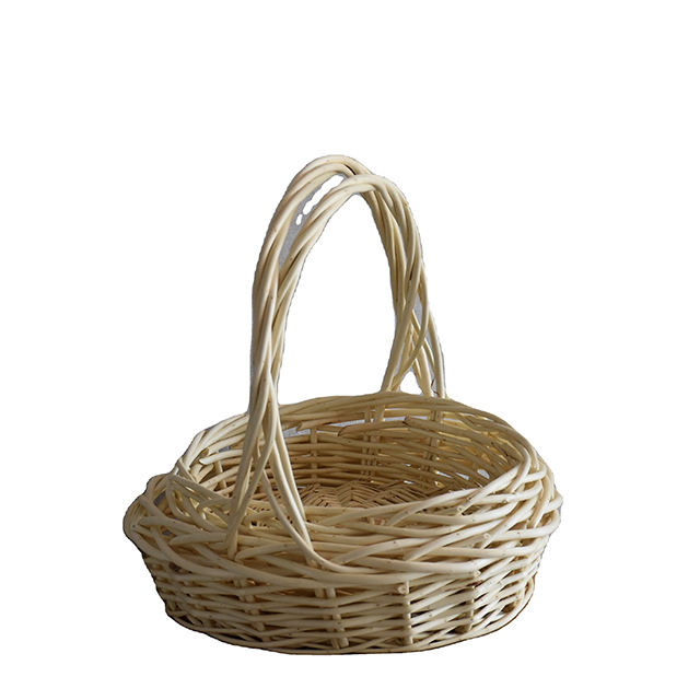 Portable wicker basket Home storage China Style