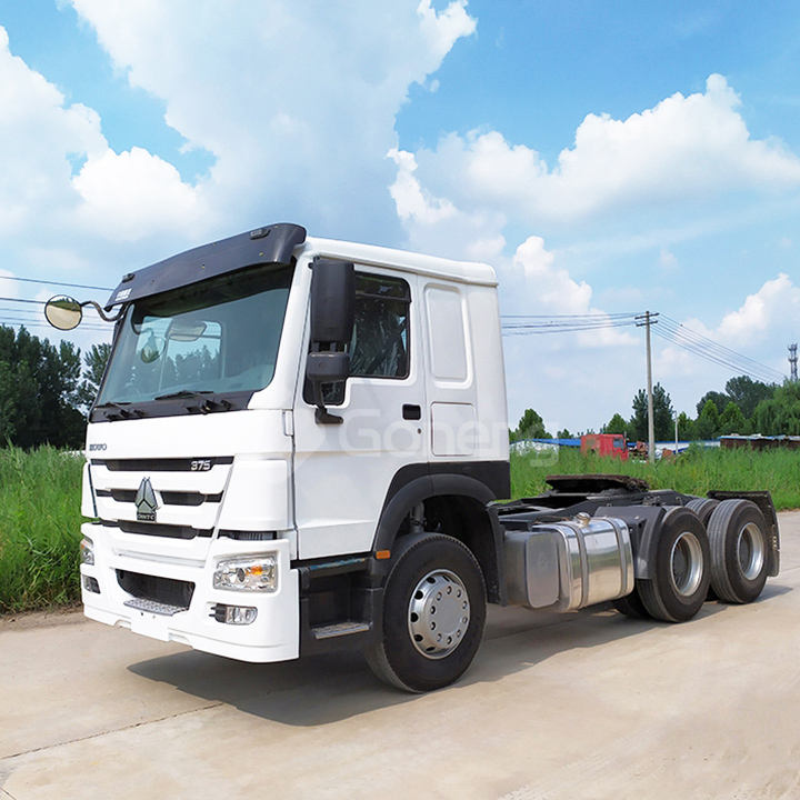 supplier direct sale heavy duty used 371 375 420hp used howo tractor head truck for sale