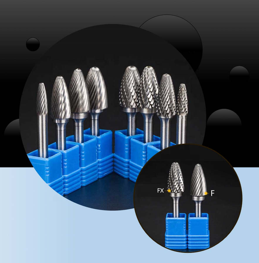 Wholesalers Direct Sales Of New Power Tool Parts Burs Burr Carbide Tungsten Carbide Burrs