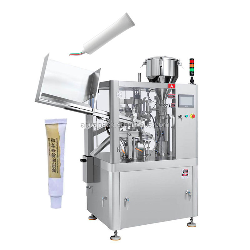 Automatic Skin Ointment Filling And Sealing Machine Tube Sealing Machine