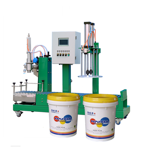 Pneumatic Paint Filling Machine Company