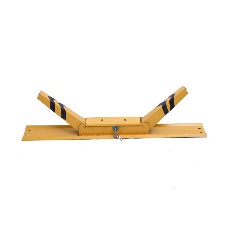 CR-12 K Type Lock High Quality Lockable Reserved Car Parking Boom Spike Blockers Barrier De Bracket Tube System