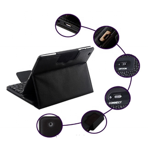 Flip Leather Cover Tablet Voor Ipad 7th Generatie Case Met Toetsenbord