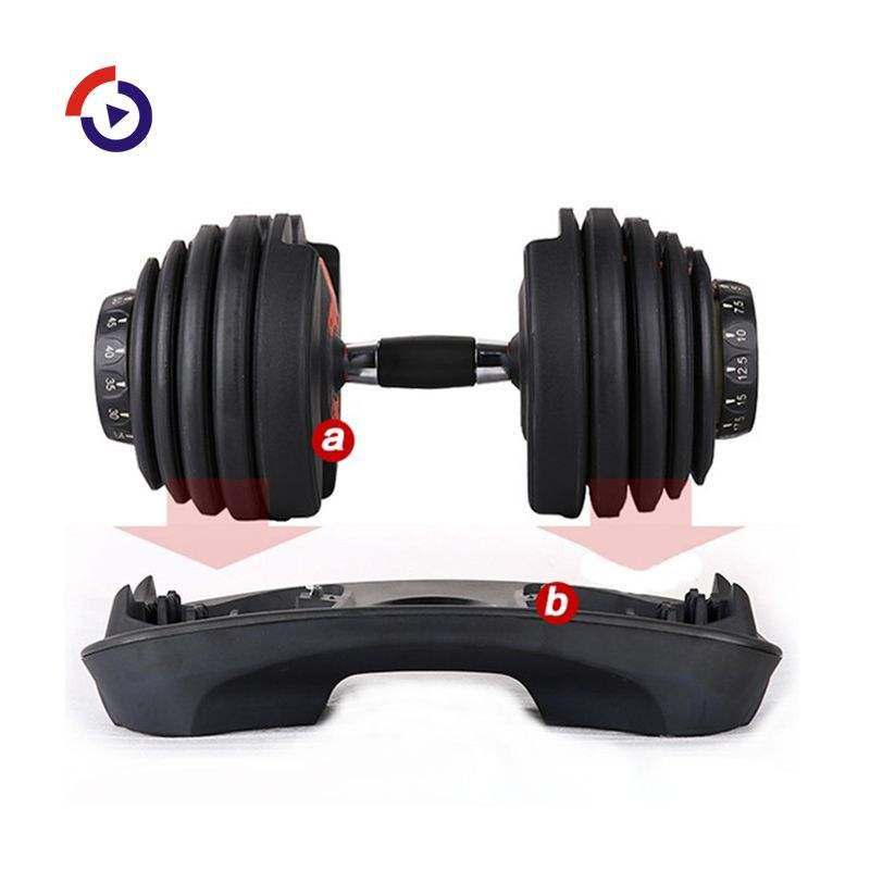 China Factory Hoge Kwaliteit Groothandel Kopen Dumbbells Set 50 Kg Verstelbare Dumbbells <span class=keywords><strong>Canada</strong></span>