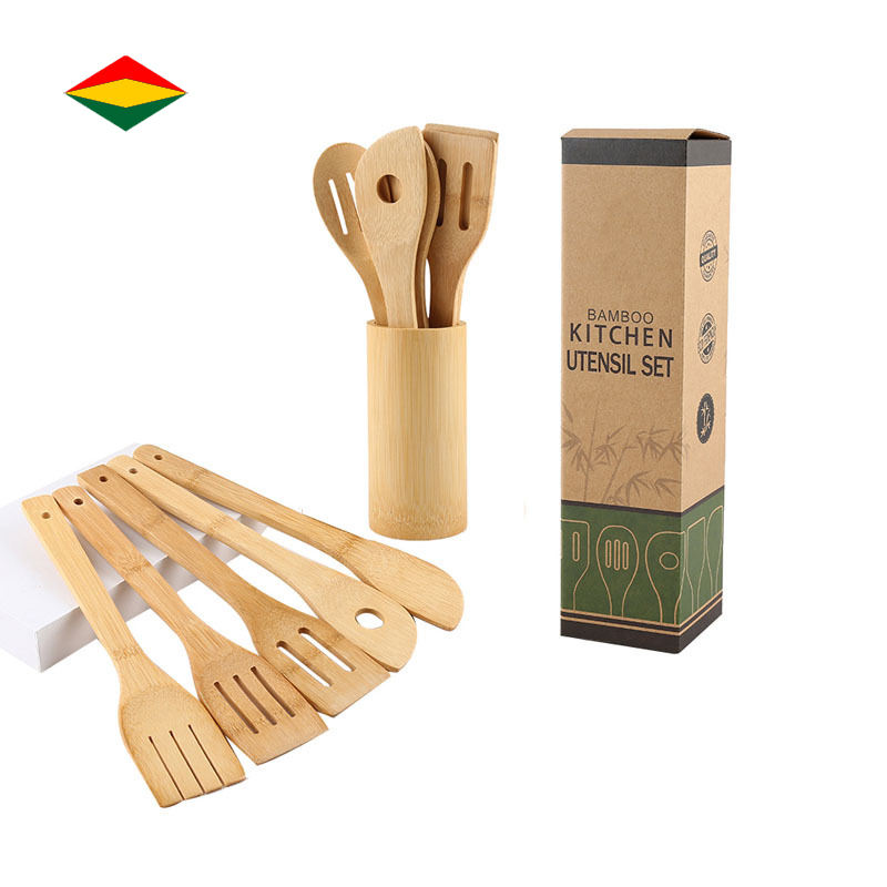 Bamboo Kitchen Cooking Utensils