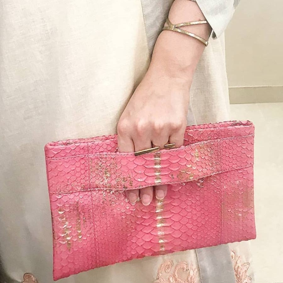 ins popular hotsale Python skin evening bags for lady, Customize fashion Python bags clutches for women
