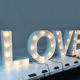 Love Company Sign Lettering Custom Giant Light Up Bulb Letter Sign Large Love Marquee Letter Lighted 36