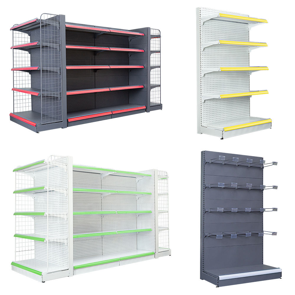 Equipment Rack Shelving Gondola Metal Display Grocery Store Used Shopping Supermarket Shelves/Rack