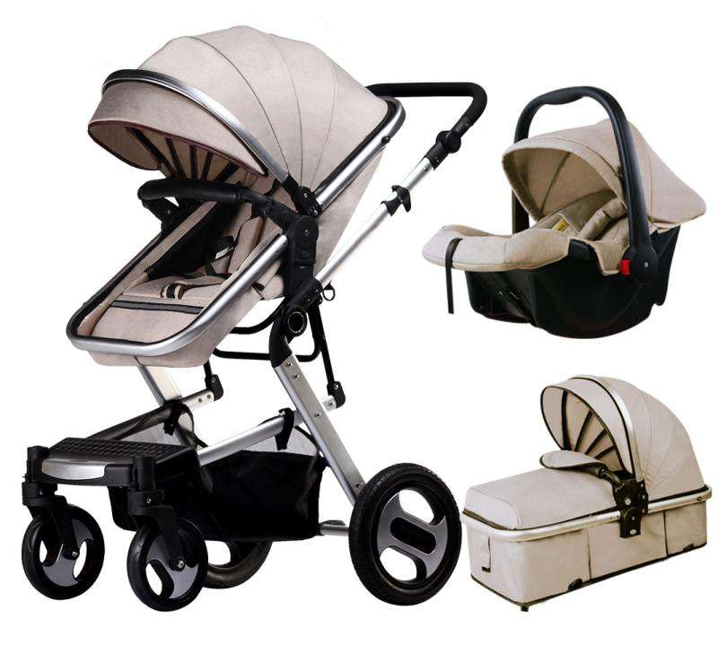 multifunction baby stroller shock absorber newborn pushchair infant pram