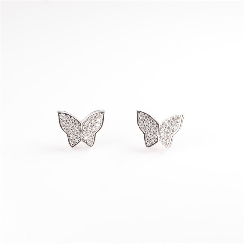 Manufacturer Supply Butterfly Wing Earring Stud For Sale