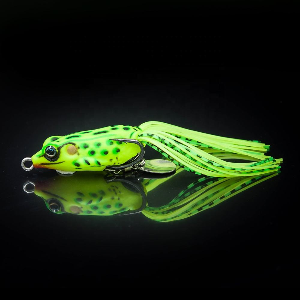 Soft Bait Lure of Sotelo Battle Frog 40mm 5g Fishing Lures, Soft Frog Lures
