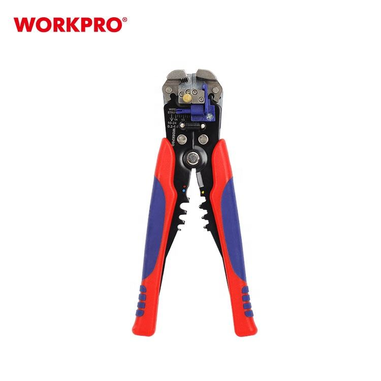 WORKPRO 5 inch 130mm Medium Electrician Multi-Tool Cutting Crimping Stripping Tool With Pouch
