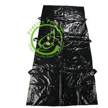 Heavy Duty leakproof biodegradable disposable dead leak proof body bag with handle for dead body