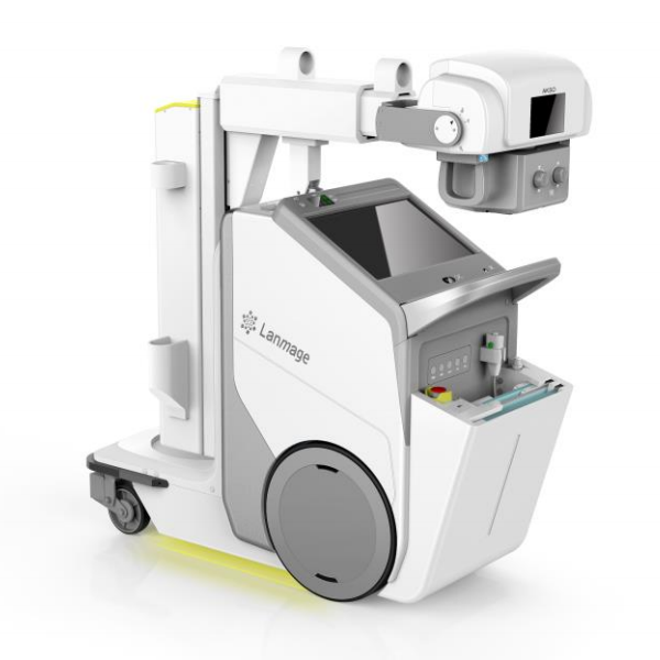 Portable digital x-ray machine Mobile DR x ray machine is used for human