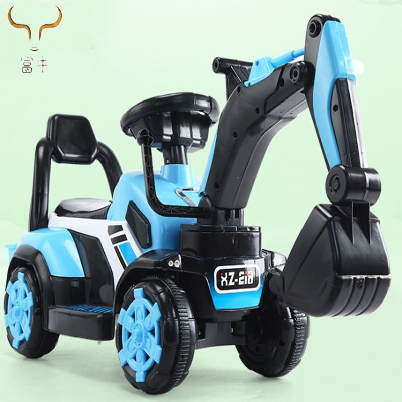 Factory Direct Sales 3-6 Baby Children Electric Digging Baby Digging Machine Can Sit Or Ride